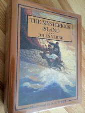 Jules Verne Mysterious Island Wyeth / Fine Copy / 1st Issue 1988 / Illustrated