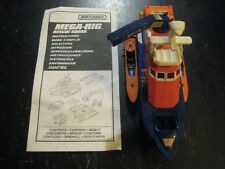 Mega-Rig Rescue Squad 15717 Boat Ship Figurine Playset Toy Mattel Matchbox 1997