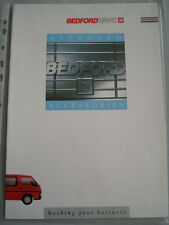Bedford Vans Approved Accessories brochure Oct 1988