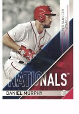 "2017 Topps MLB Silver Slugger Awards 5x7"" /49 Daniel Murphy Washington Nationals"