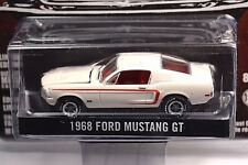 FORD MUSTANG GT 1968 WHITE GREENLIGHT MUSTANG 50 YEARS 2014 27770 1:64