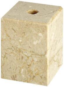 CreamMarble Columns Centre hole drilled