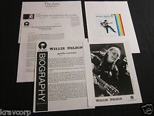 WILLIE NELSON 'RAINBOW CONNECTION' 2001 PRESS KIT—PHOTO