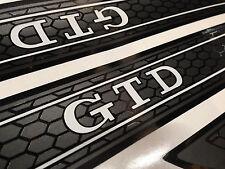 Golf IV V VI VII 4 5 6 7 GTD Weiß 4 Türen Waben Folien Einstiegsleisten