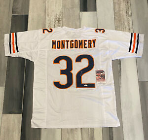 David Montgomery Signed Chicago Bears Autographed Jersey JSA