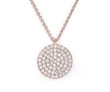 Rose Gold CZ Necklace