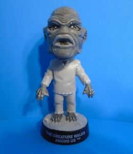 UNIVERSAL MONSTERS LITTLE BIG HEADS THE CREATURE WALKS AMONG US EX CONDITION