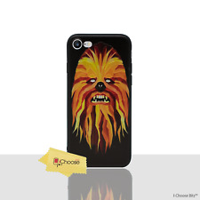 "Star Wars Case/Cover iPhone 6/6s (4.7"") / Screen Protector / 3D Gel / Chewbacca"