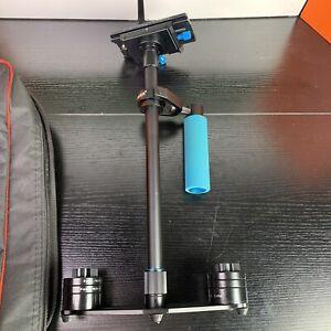 "Neewer 24""/ 60cm Black Carbon Fiber Handheld Stabilizer Quick Release Plate"
