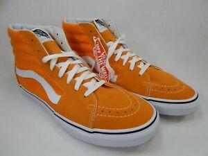 vans uomo arancioni