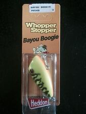 Heddon Original Whopper Stopper Bayou Boogie W6568 Fire Tiger
