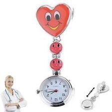 Reloj de pulsera Smiley Enfermera segunda mano Rojo