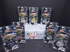 7 Racing Champions Nascar  YO-YO COMPLETE Set / / SCOOBY Carton Network Chaser