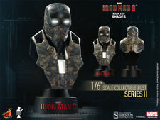 Hot Toys Iron Man 3 Movie Mark 23 XXIII MK 23 Shades Collectible 1/6 Scale Bust