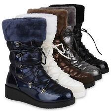 Damen Winterstiefel Warm Gefütterte Stiefel Winter Snowboots 818957 Schuhe