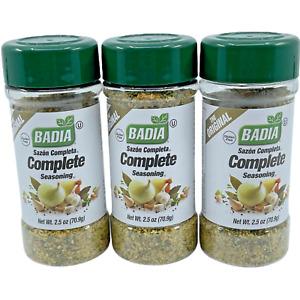 BADIA Saźon Completa, Complete Seasoning  3 Pack Free Shipping!