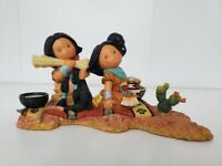 Vtg Enesco Friends of the Feather 1998 The Beauty Of Friends Figurine Fast Ship