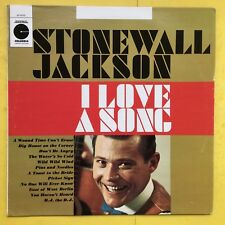 Stonewall Jackson - I Love A Song - Columbia Limited Edition LE-10152 VG+