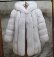 Sz S-4XL Womens Thick Fur Hooded Casual Winter Warm Coat Jacket Outwear Parka az