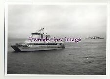 """LB0002 - Sealink Fast Ferry - Our Lady Patricia & Waverley - photograph 5""""x7"""""""