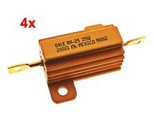 4x DALE RH25 Resistor Hochlastwiderstand 25W 200 Ohm 1% Wiederstand  #713957