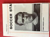 m2M ephemera 1966 football picture tommy robson chelsea