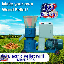 Electric Pellet Mill For Wood - Mkfd300B