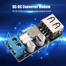DC-DC Step Down Buck Modul Konverter Spannung Wandler USB Schnellladung Platine