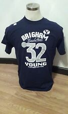 Jimmer Fredette #32 BYU Cougars Basketball Navy T-shirt Small S New NWOT
