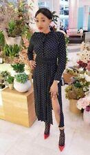 Topshop Black Spot Dress Size 10