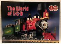 TRAINS CATALOG The world of LGB Giant Catalog 1977-1978 L.G.B