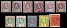 Used Edward VII (1902-1910) British St Vincentian Stamps