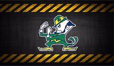 Notre Dame fighting irish 5'' vinyl car sticker decal l buy 1 get 1 free