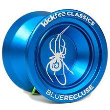 KickFire Classics Blue Recluse Non Responsive Ball Bearing Trick YoYo