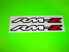 SUZUKI RMZ 250 450 MOTOCROSS SUPERCROSS MOTORCYCLE ATV QUAD UTV STICKERS DECALS