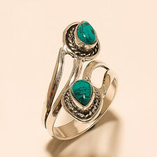 Silver Plated Gemstone Handmade Ring Jewellery G2289