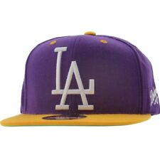 $19.99 American Needle Los Angeles Dodgers Snapback Cap purple gold
