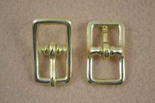 """New listing Buckle, Bar - 1/2"""" Solid Brass - Pack of 4 (F373)"""