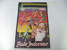 FRATE INDOVINO - LA VITA E' BELLA - CALENDARIO 1986 - BUONO - L25