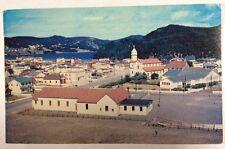 Aerial View of Placentia, Placentia Newfoundland Canada 300th Chrome Postcard