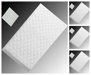 Babylo Cozi Sleeper  New FULLY BREATHABLE Mattress White 87 x 44 CM
