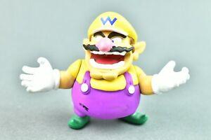 """World of Nintendo Jakks Pacific Wario 3"""" Action Figure"""