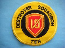 VIETNAM WAR PATCH, US DESTROYER SQUADRON 10