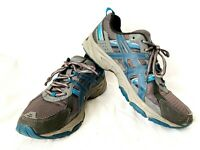 ASiCS Gel Venture 5 Gray Running Training Shoes T5N3Q Men's US 10 EU 44