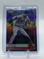 Chris Sale 2019 Topps Chrome Sapphire Refractor Card #643 Boston Red Sox
