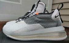 Mens Nike Air Max 720 Waves - MS/X -White/Black-Wolf Grey- New  US Size 12