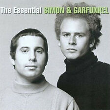Simon & Garfunkel The Essential Sony 2 CD 40 TRKS Silence Boxer Cecelia America