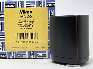 [MINT in BOX] Nikon MB-20 Battery Pack Holder Grip For F4 F4S From JAPAN #732