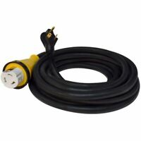 """Valterra A10-3050EDBK Mighty Cord Detachable 25"""" Adapter Cord - 30AM to 50AF,..."""