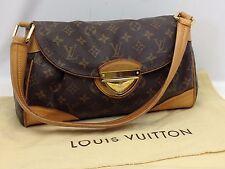 Authentic Louis Vuitton Monogram Beverly Shoulder Bag PVC Brown 6C220710#